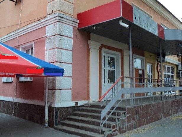 Нежитлове приміщення, що належить ПАТ «ВіЕйБі Банк», площею 107,2 кв. м., 1 поверх, за адресою: Полтавська область, м. Миргород, вул. Гоголя, буд. 116